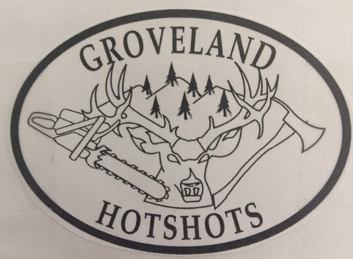 Groveland Hotshots Buckle (RESTRICTED)