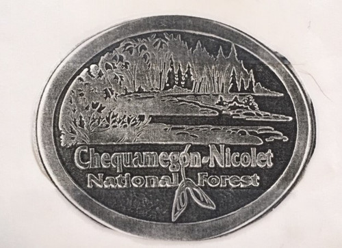 Chequamegon-Nicolet National Forest Buckle