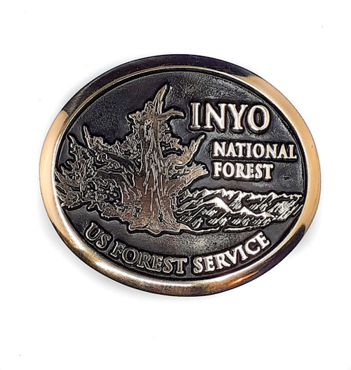 Inyo National Forest Buckle