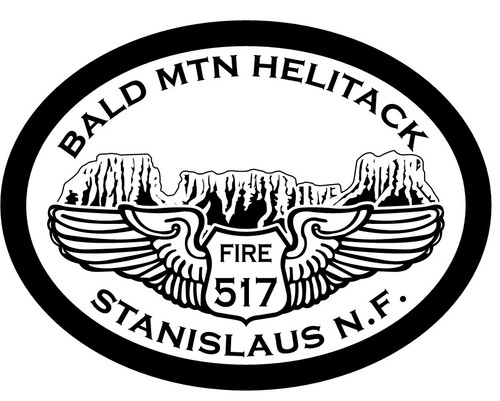 Bald Mountain Helitack H517 Stanislaus National Forest Buckle (RESTRICTED)