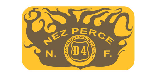 Nez Perce National Forest Clearwater Ranger District Buckle