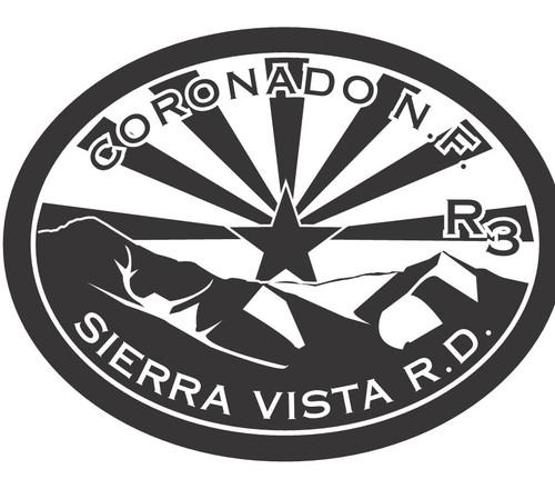 Coronado National Forest Sierra Vista Ranger District R3 Buckle (RESTRICTED)