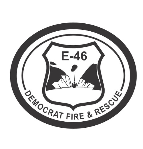 Democrat Fire and Rescue E-46 Buckle (RESTRICTED)