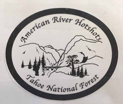 American River Hotshots Tahoe National Forest Buckle (RESTRICTED)