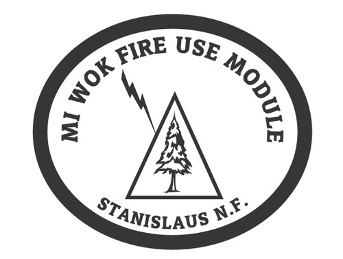 Mi Wok Fire Use Module Stanislaus National Forest Buckle (RESTRICTED)