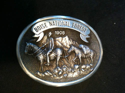 Boise National Forest Buckle