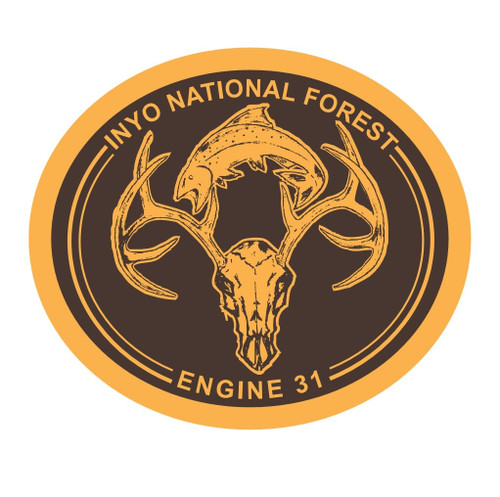 Engine 31 - Inyo National Forest Buckle (RESTRICTED)
