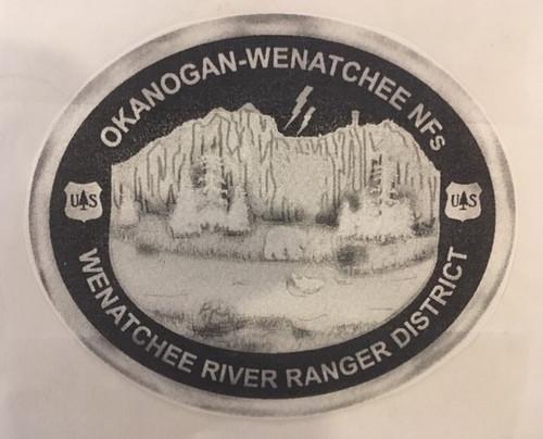 Wenatchee River Ranger District Buckle