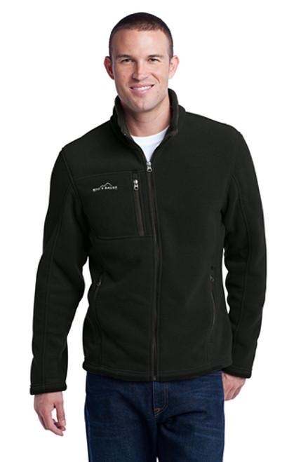 BLM - 2XL - Eddie Bauer® - Men's Full-Zip Fleece Jacket - BLACK