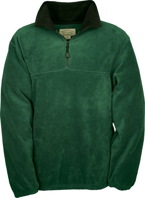 BLM Volunteer - Green 1/4 Zip Fleece Pullover - XL