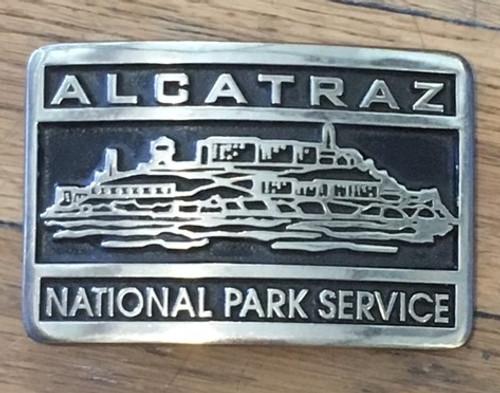 Alcatraz National Park Service Buckle (RESTRICTED)