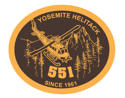 Yosemite Helitack 551 Buckle (RESTRICTED)