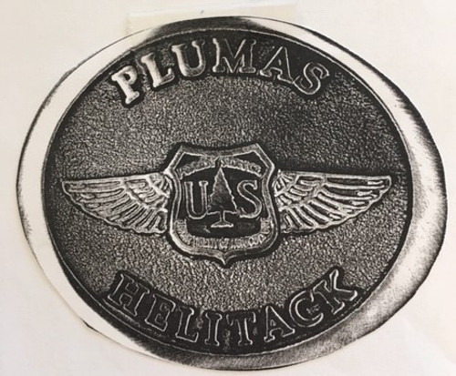 Plumas Helitack Buckle (RESTRICTED)
