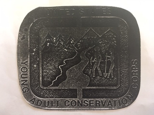 Young Adult Conservation Corps Buckle