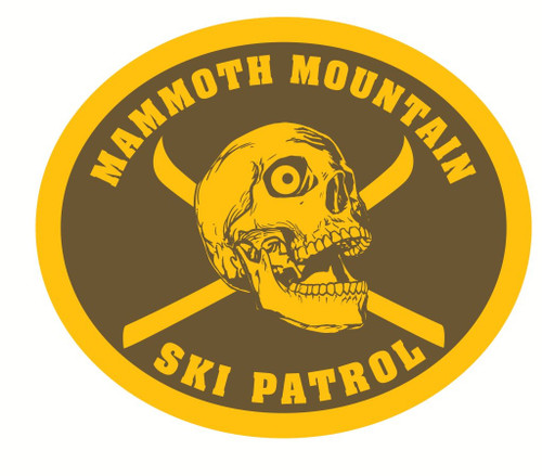 Mammoth Mountain Ski Patrol Buckle (RESTRICTED)