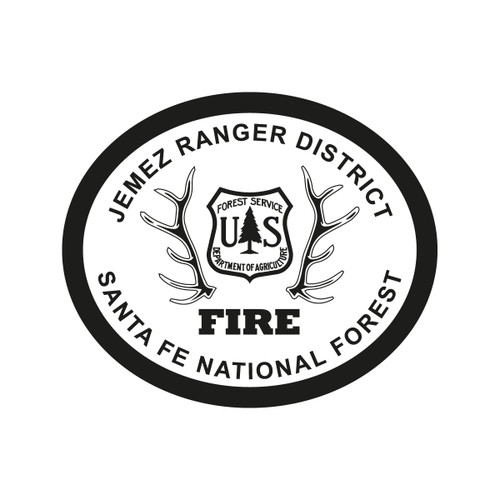 Jemez Ranger District Santa Fe National Forest Fire Buckle (RESTRICTED)