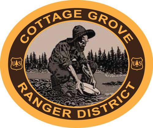 Cottage Grove Ranger District Buckle