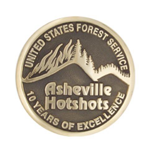 Asheville Hotshot 10 Year Buckle (RESTRICTED)