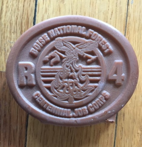 Boise National Forest R4 Centennial Job Corps Buckle