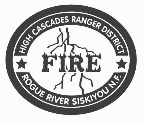 High Cascades Ranger District Rogue River Siskiyou National Forest Buckle