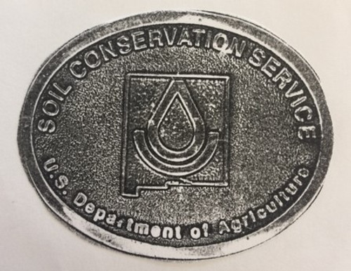 Soil Conservation Service New Mexico Buckle