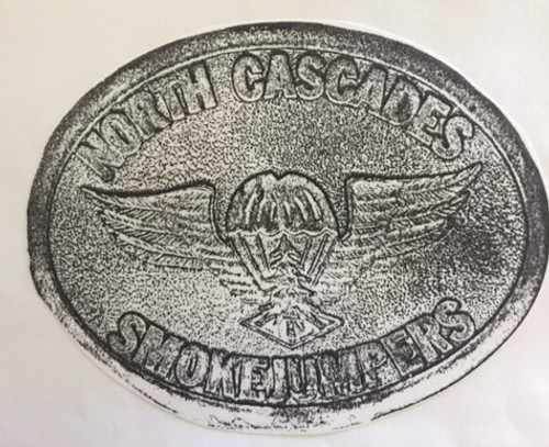 North Cascade Smokejumpers Buckle (RESTRICTED)