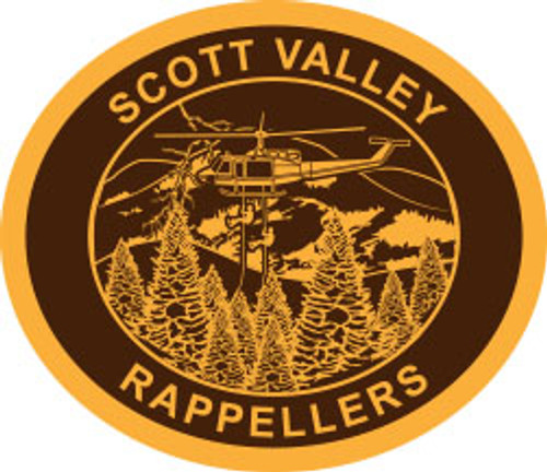 Scott Valley Rappellers Buckle (RESTRICTED)