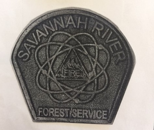Savannah River Forest Service Buckle