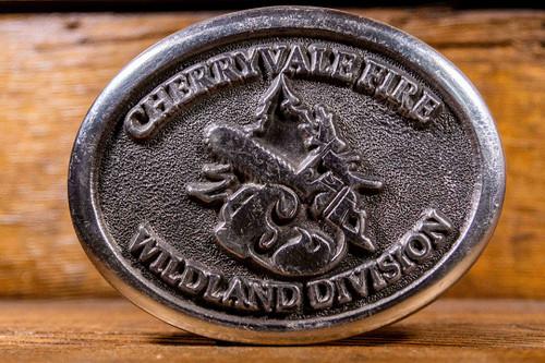 Cherryvale Fire Wildland Division Buckle