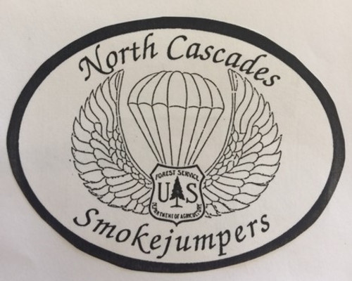 North Cascade Smokejumpers 1992 Buckle (RESTRICTED)