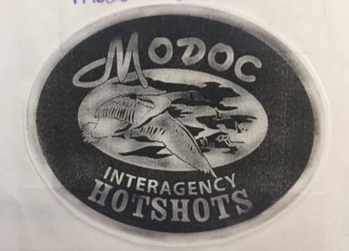 Modoc Interagency Hotshots Buckle (RESTRICTED)