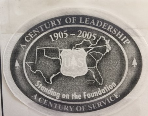 Forest Service Standing on the Foundation Buckle