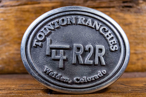 Tointon Ranches Buckle (RESTRICTED)