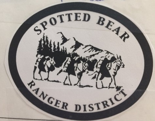 Spotted Bear Ranger District Buckle