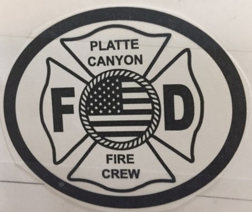 Platte Canyon Fire Crew Buckle (RESTRICTED)