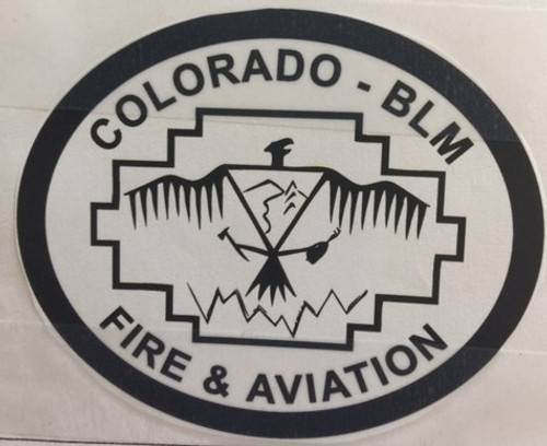 Colorado BLM Fire & Aviation Buckle (RESTRICTED)