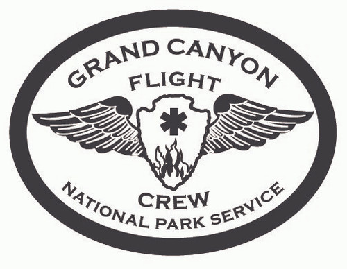 Grand Canyon Flight Crew National Park Service Buckle (RESTRICTED)