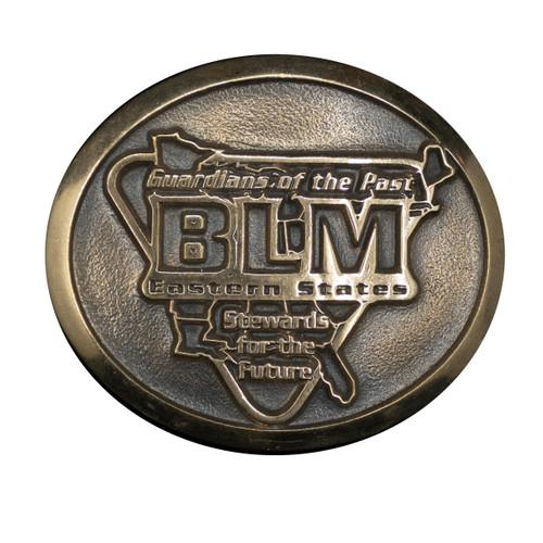 Bureau of Land Management Eastern States Buckle