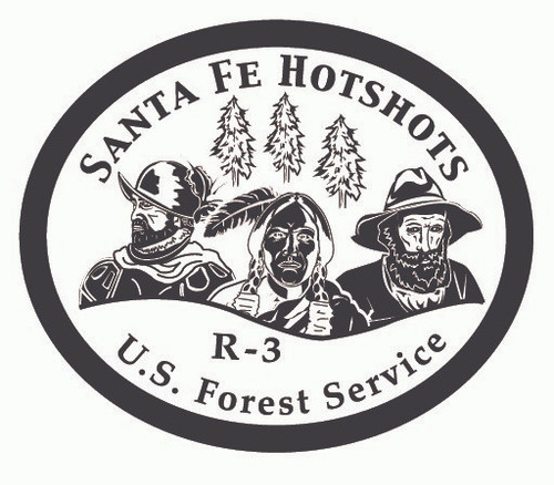 Santa Fe Hotshots R-3 Buckle (RESTRICTED)