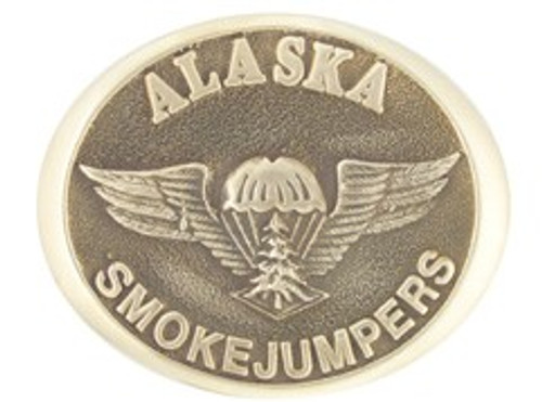Alaska Smokejumpers Buckle (RESTRICTED)