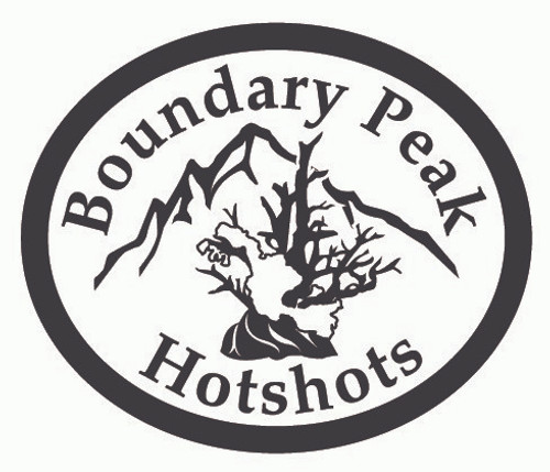 Boundary Peak Hotshots Buckle (RESTRICTED)
