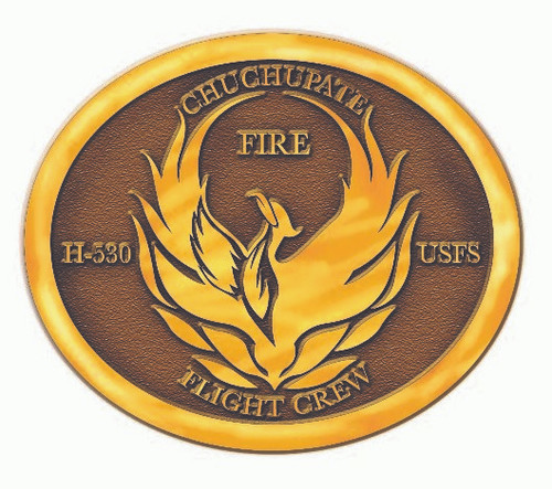 Chuchupate Fire Flight Crew H-530 Buckle (RESTRICTED)