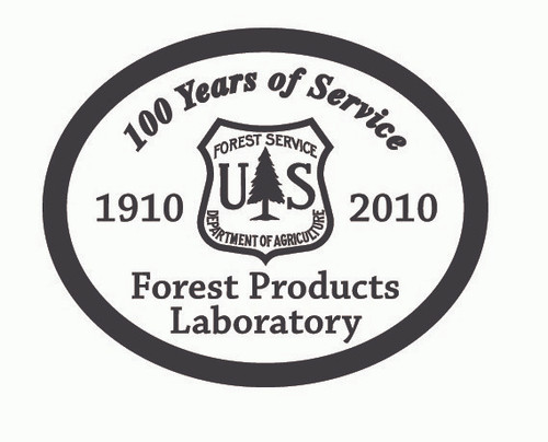 Forest Products Laboratory 100 Years Buckle
