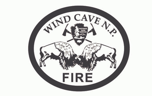 Wind Cave National Park Fire Buckle