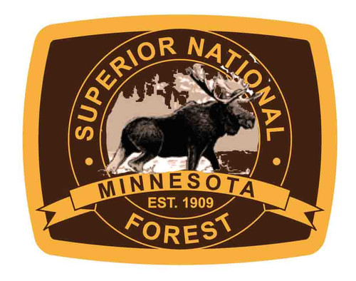 Superior National Forest Buckle