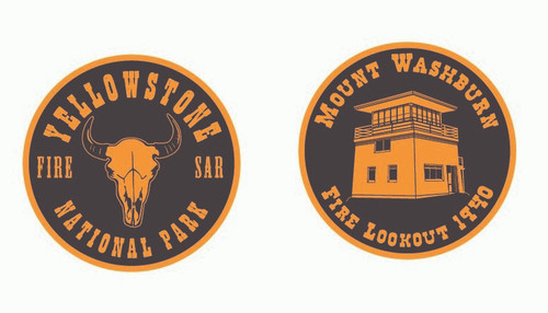 Yellowstone National Park Fire SAR Mount Washburn Coin (RESTRICTED)