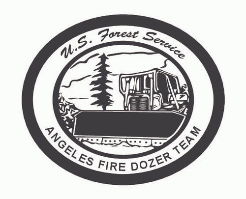 Angeles Fire Dozer Team Buckle (RESTRICTED)
