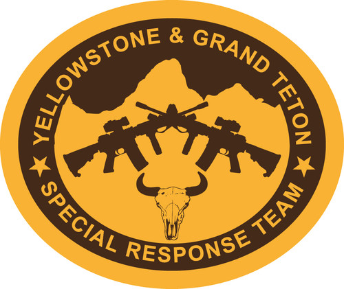 Yellowstone and Grand Teton Special Response Team Buckle (RESTRICTED)