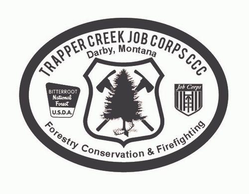 Trapper Creek Job Corps CCC Buckle
