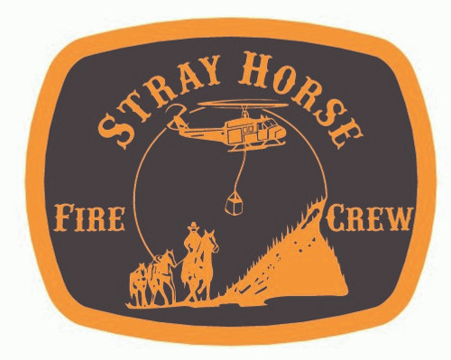 Stray Horse Fire Crew Buckle (RESTRICTED)